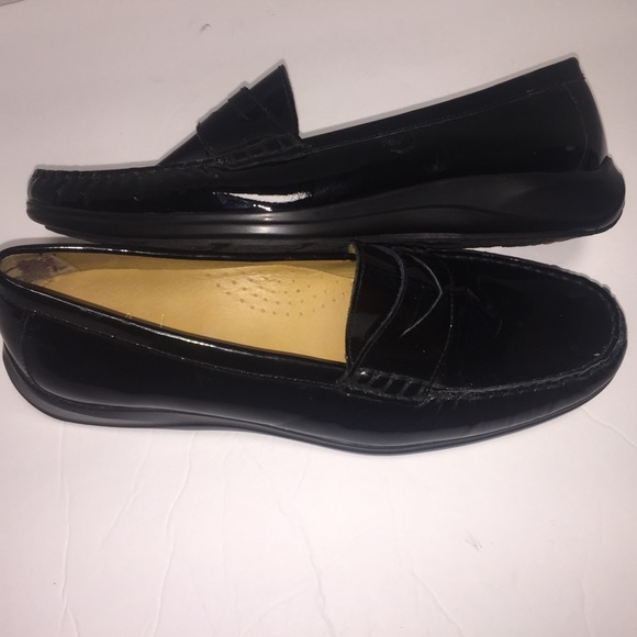 857f9a7fe54b6 Cole Haan Shoes | Erika Penny Loafer Patent Leather Size 9 | Poshmark